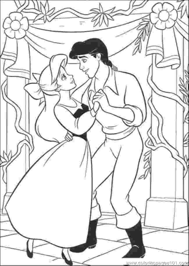 ariel and eric coloring pages disney ariel and eric coloring pages getcoloringpagescom eric ariel and pages coloring