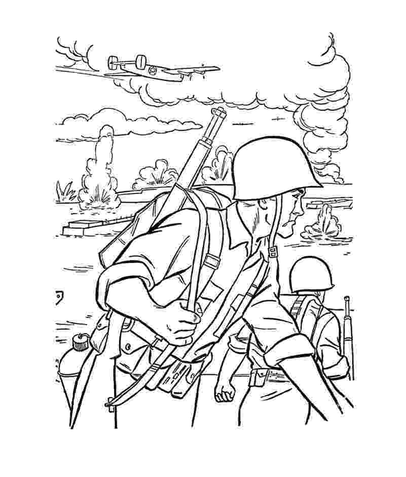 army colouring pictures free printable army coloring pages for kids colouring army pictures