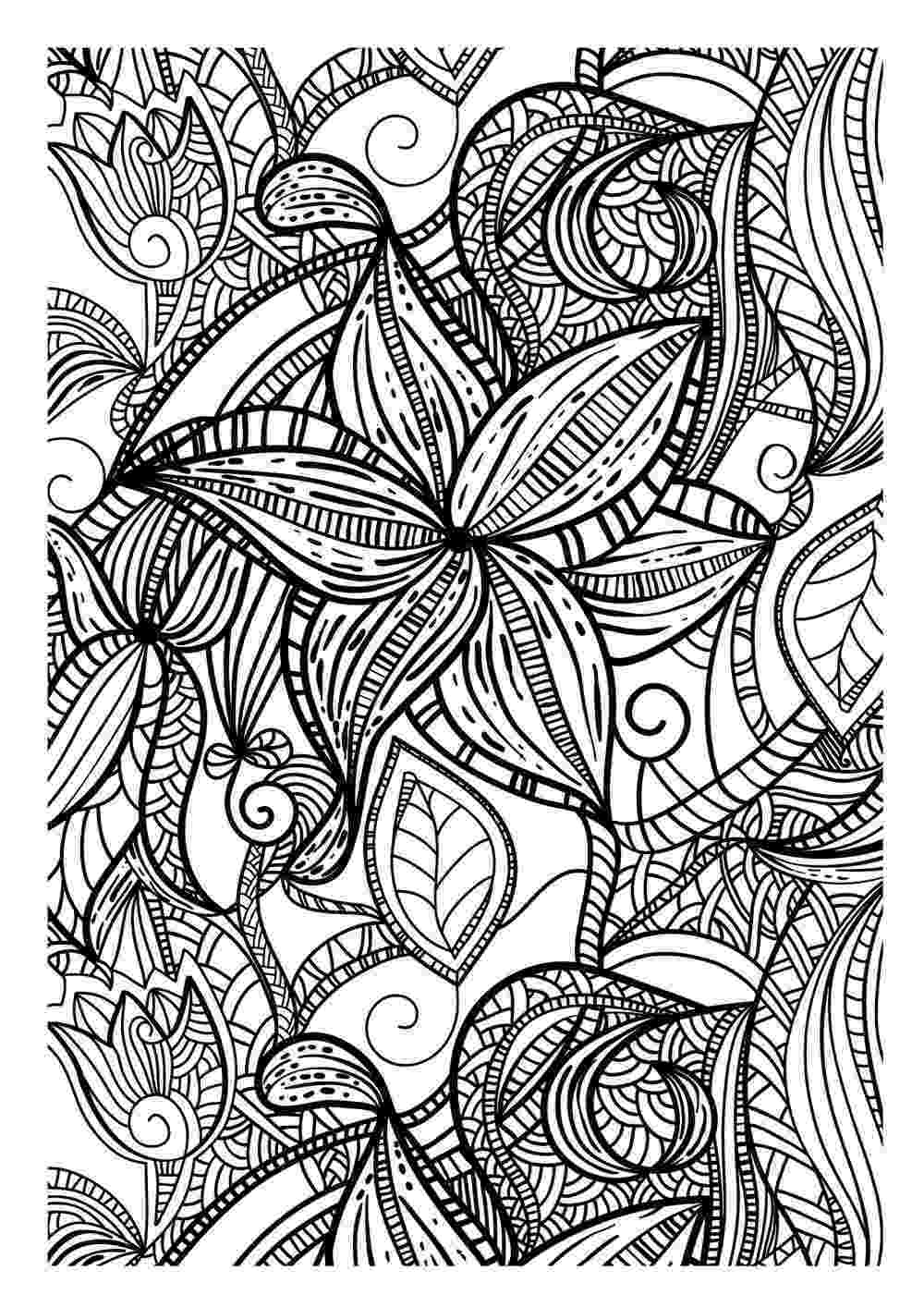 art pages to color art therapy coloring pages to download and print for free to color pages art