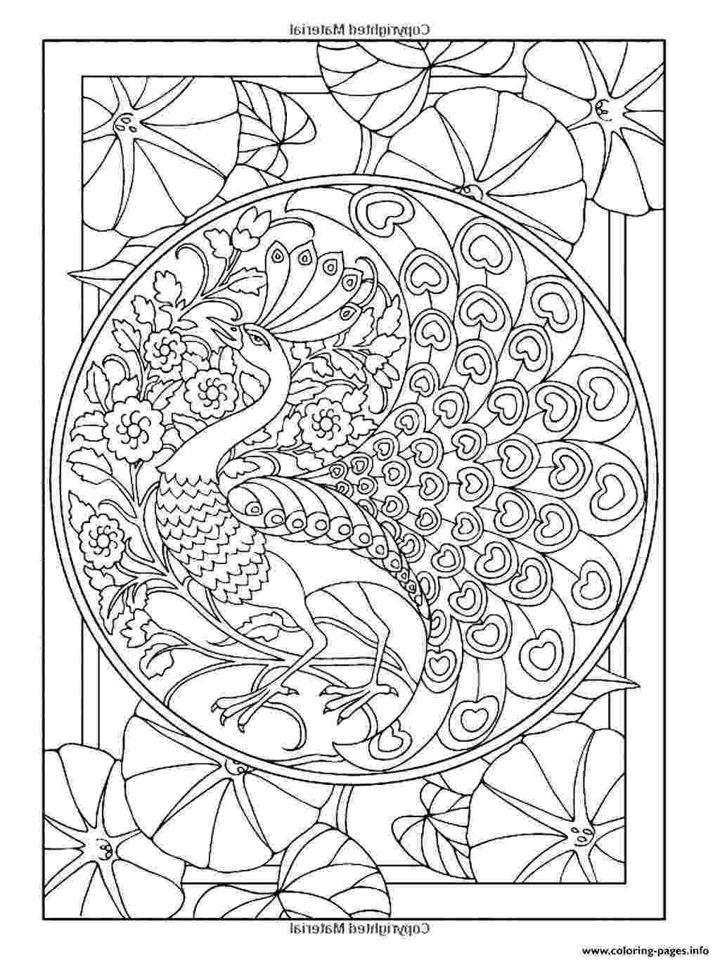 art pages to color peacock coloring pages for adults coloring home color art pages to