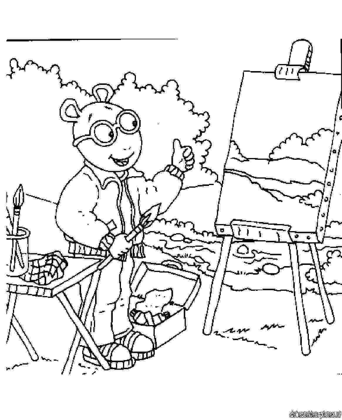 arthur coloring pages 25 best images about dibujos arthur on pinterest arthur coloring pages