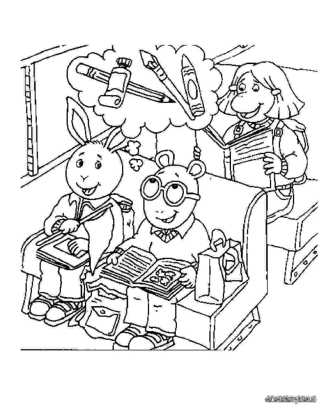 arthur coloring pages arthur family coloring pages to kids arthur pages coloring