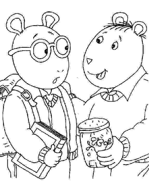 arthur coloring pages arthur printable coloring pages arthur coloring pages