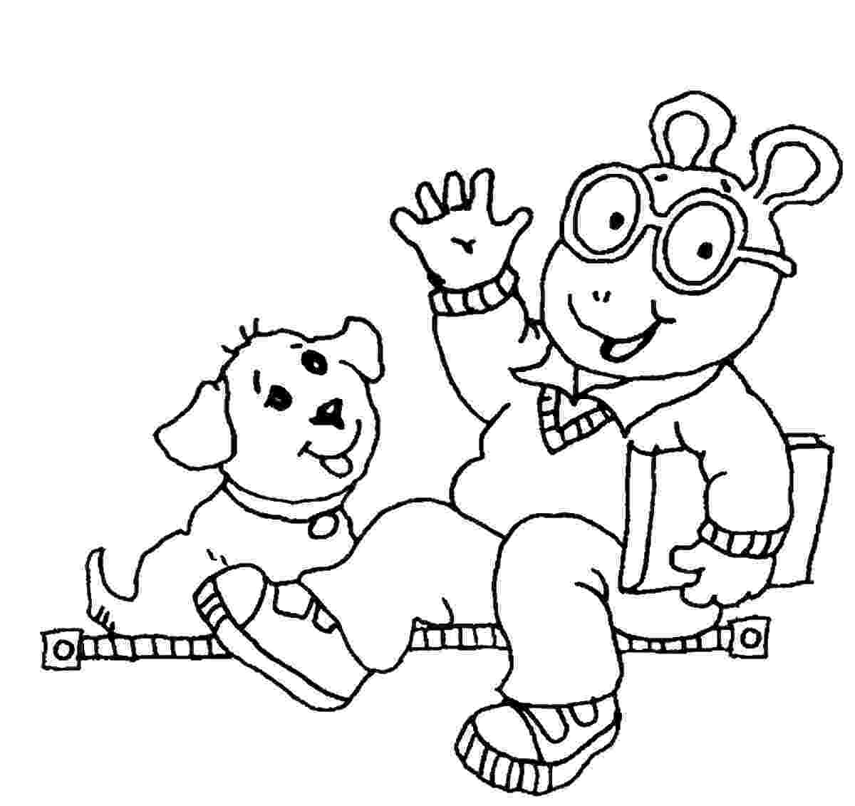 arthur coloring pages free printable arthur coloring pages for kids arthur pages coloring