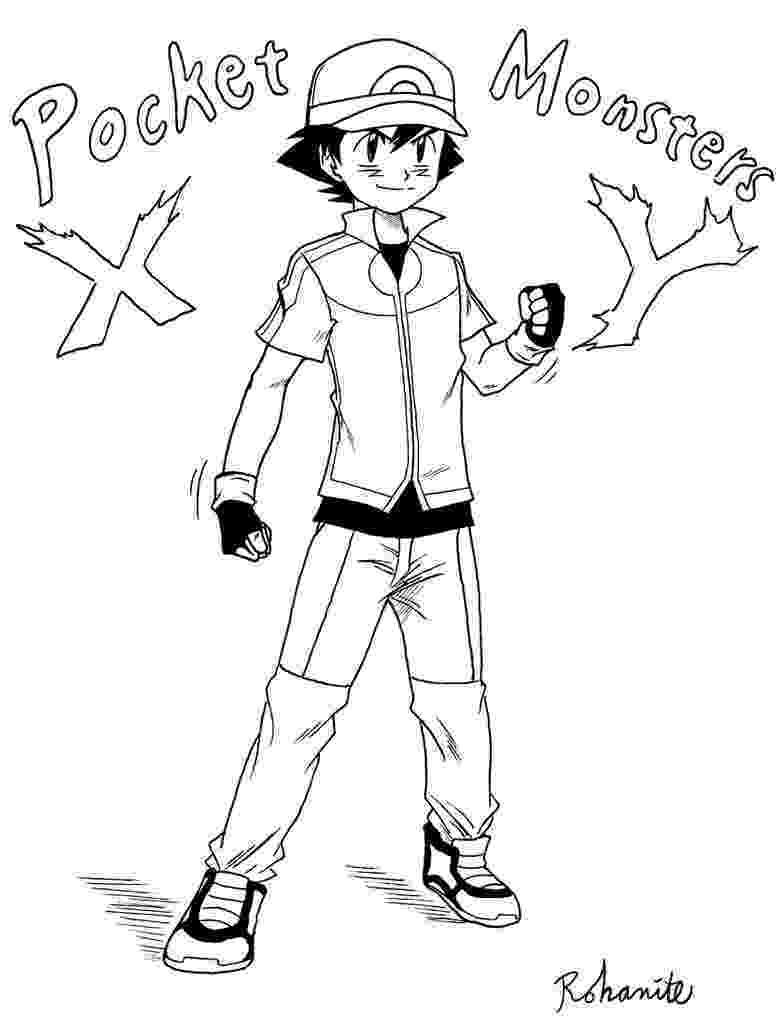 ash ketchum coloring pages ash ketchum and pikachu on pokemon coloring page for kids ash coloring pages ketchum