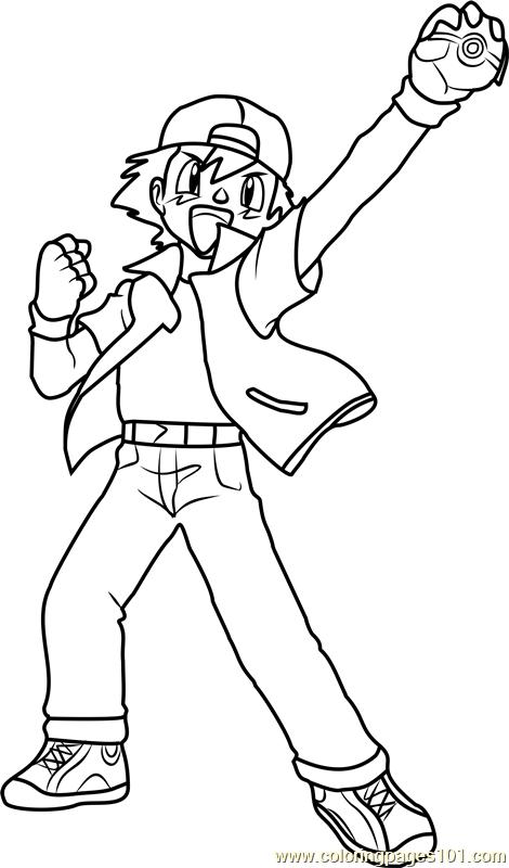 ash ketchum coloring pages ash ketchum dont even try me on pokemon coloring page ketchum ash coloring pages