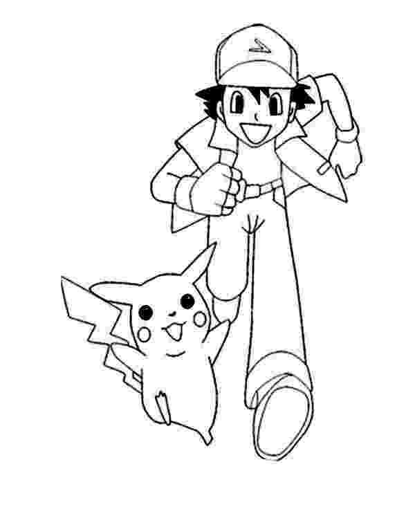 ash ketchum coloring pages pokemon pikachu drawing at getdrawingscom free for coloring ash pages ketchum