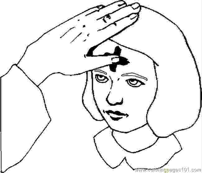 ash wednesday coloring pages ash wednesday coloring page free printable coloring pages wednesday pages coloring ash
