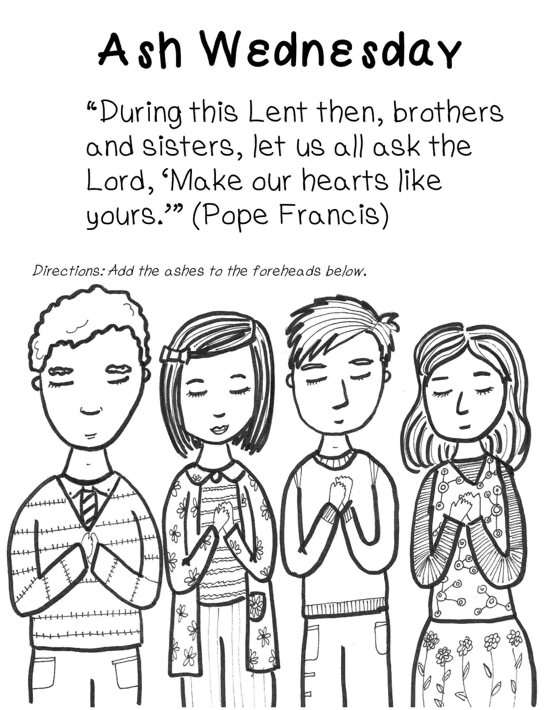 ash wednesday coloring pages ash wednesday coloring page pages coloring ash wednesday