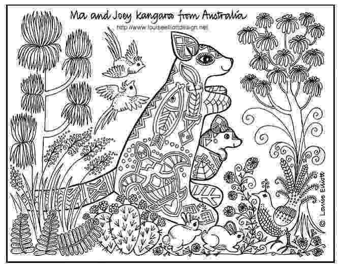 australian animals colour by numbers free coloring pages animals of the world coloring pages by animals numbers colour australian