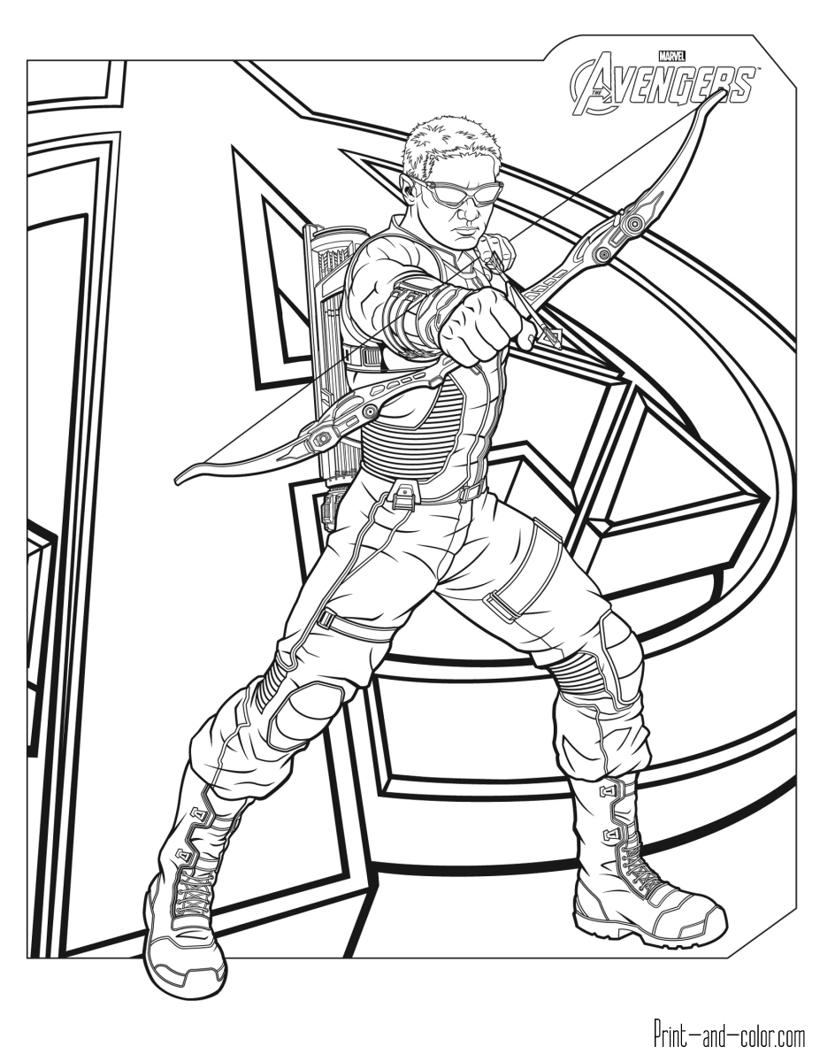 avengers printable coloring pages avengers coloring pages getcoloringpagescom coloring avengers printable pages