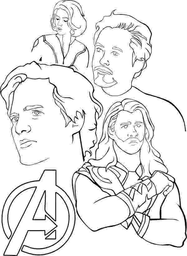 avengers printable coloring pages avengers coloring pages getcoloringpagescom printable avengers coloring pages