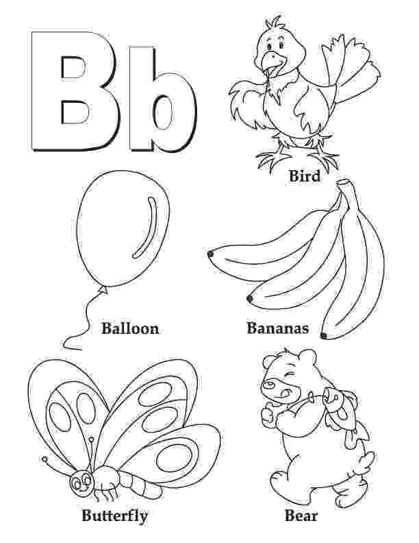 b coloring page letter b coloring pages getcoloringpagescom coloring page b 1 1