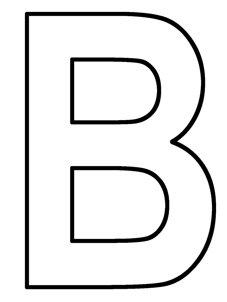 b coloring page top 10 free printable letter b coloring pages online coloring page b
