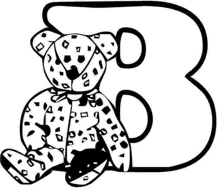 b coloring page we love being moms letter b bear bee coloring page b
