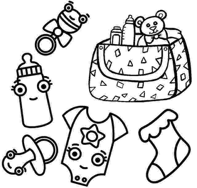baby clothes coloring pages detailed onsie clipart all things baby showers coloring baby clothes pages