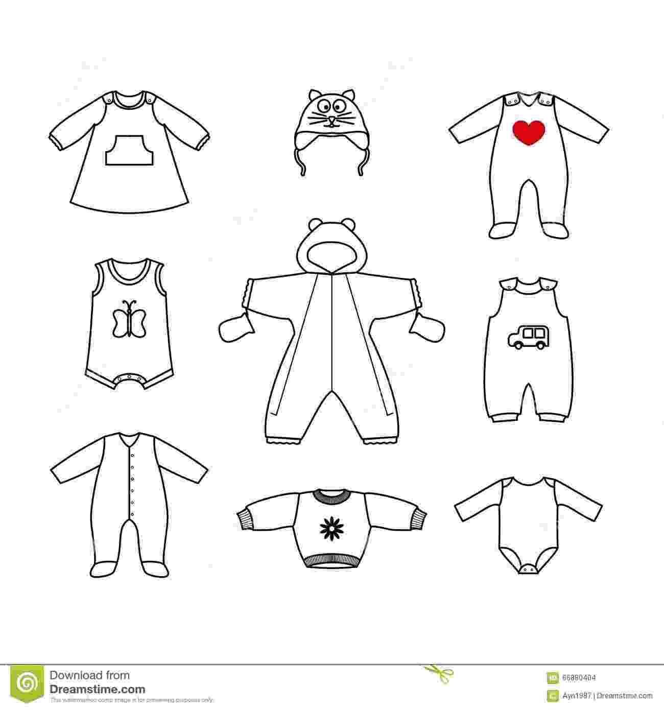 baby clothes coloring pages free printable baby coloring pages for kids cool2bkids coloring pages clothes baby