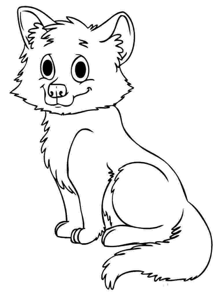 baby fox coloring pages baby fox coloring pages fox baby fox want to touch pages coloring baby fox