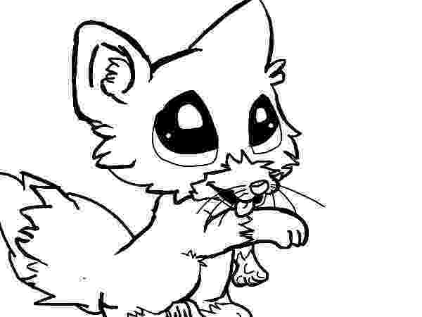 baby fox coloring pages cute baby fox coloring page download print online pages baby fox coloring