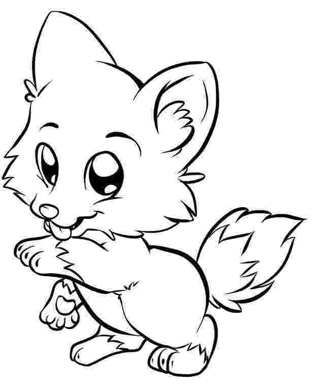 baby fox coloring pages free printable fox coloring pages for kids coloring fox baby pages