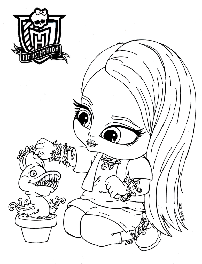 baby monster high coloring pages all about monster high dolls baby monster high character baby pages coloring high monster