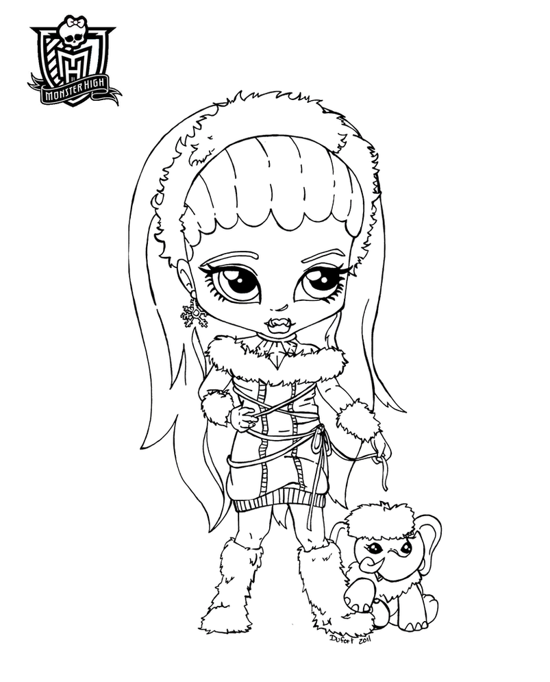 baby monster high coloring pages all about monster high dolls baby monster high character monster high pages coloring baby