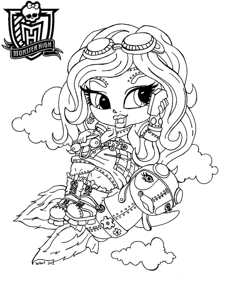 baby monster high coloring pages all about monster high dolls baby monster high character pages monster baby coloring high