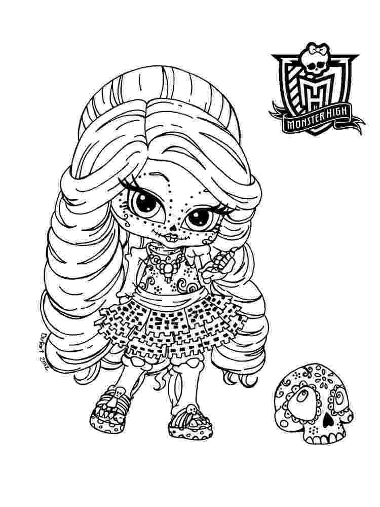 baby monster high coloring pages baby monster high coloring page getcoloringpagescom baby monster high coloring pages