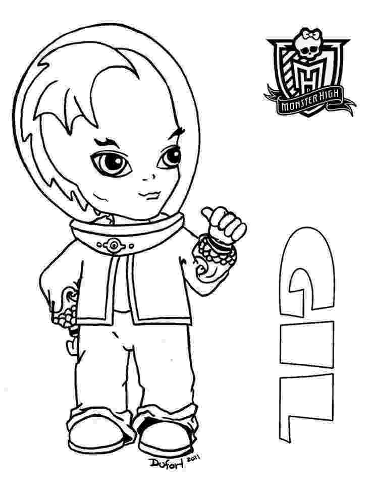baby monster high coloring pages baby monster high coloring pages free printable baby coloring pages high monster baby