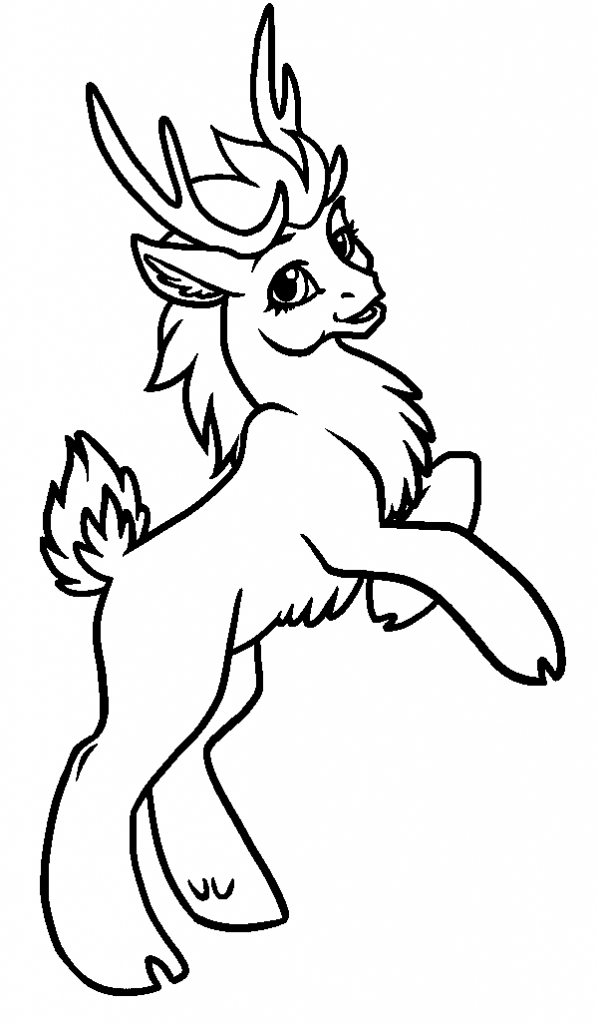 baby reindeer coloring pages free printable reindeer coloring pages for kids reindeer baby coloring pages
