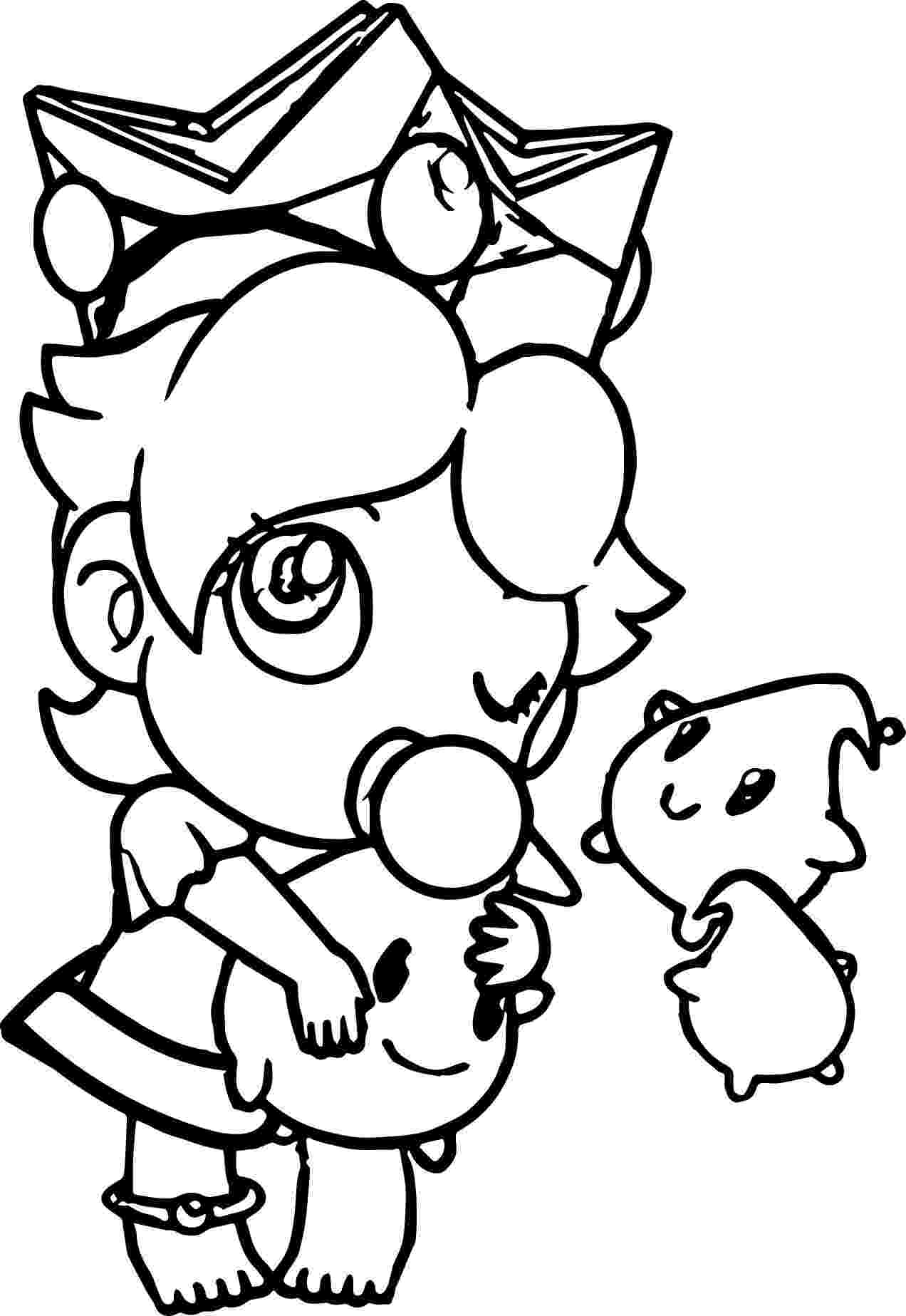 baby rosalina coloring pages baby rosalina coloring pages at getcoloringscom free pages coloring baby rosalina