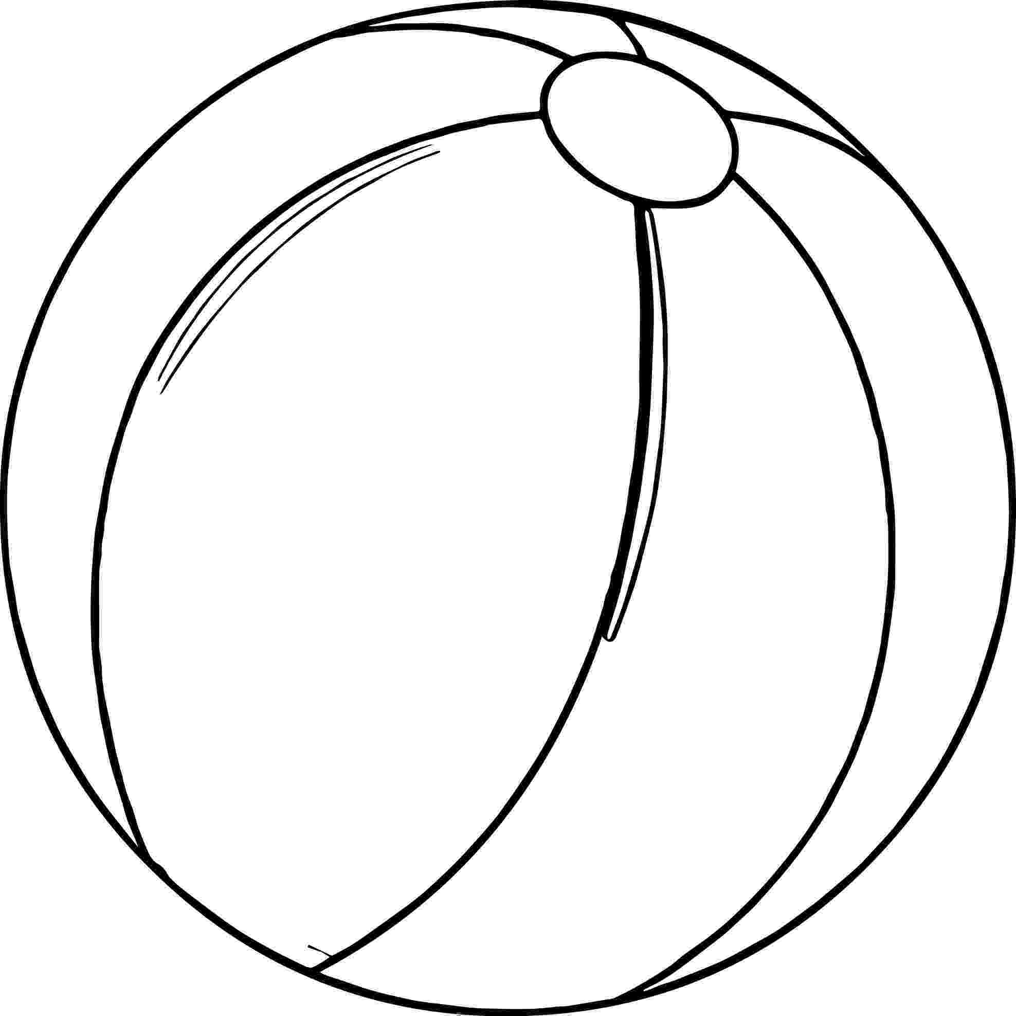 ball coloring pages beach ball coloring page print color fun ball coloring pages