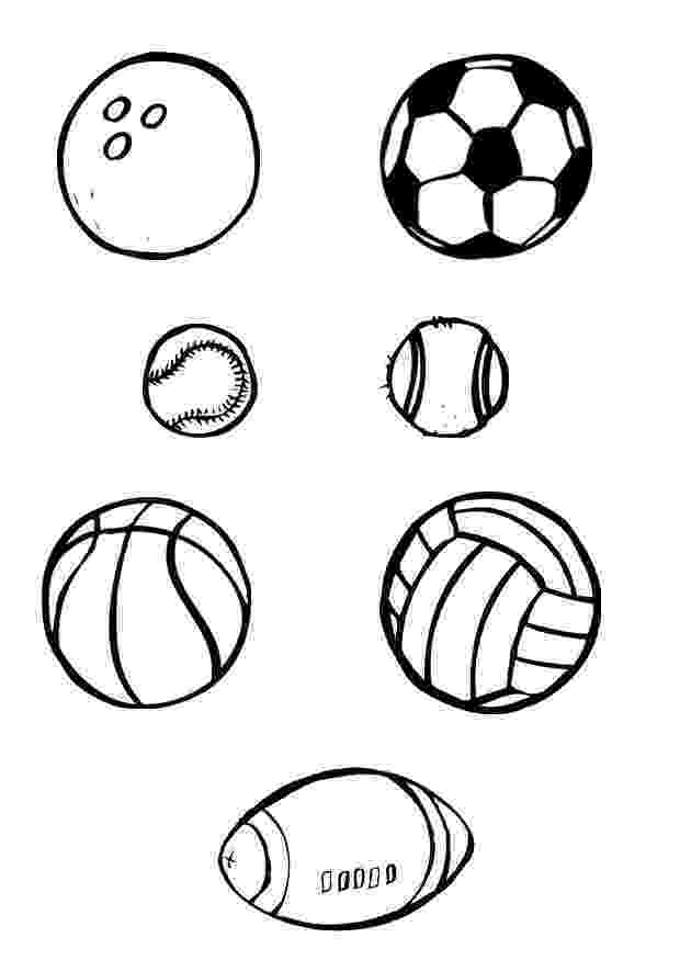 ball coloring pages sports balls coloring pages ball pages coloring