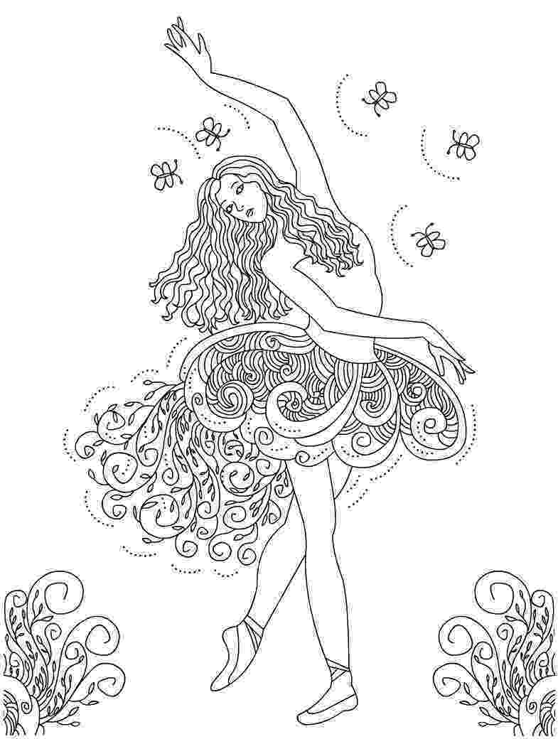 ballerina coloring pages 17 best images about coloring pages on pinterest girl coloring ballerina pages