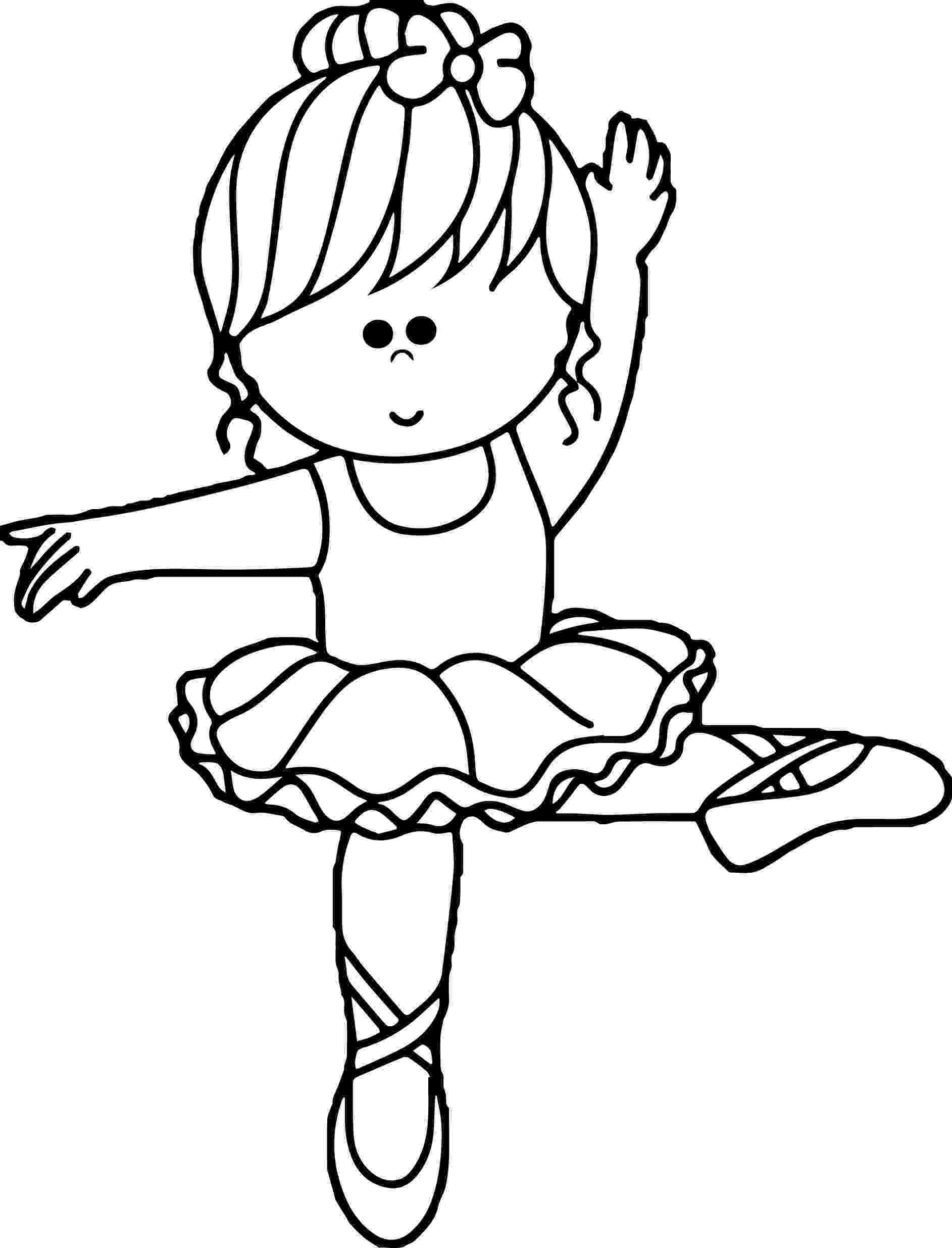 ballerina coloring pages ballet coloring pages getcoloringpagescom coloring ballerina pages