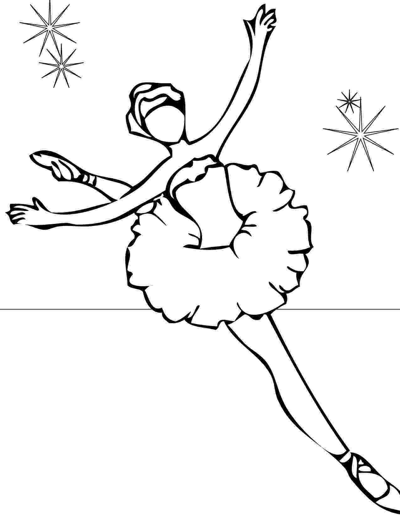 ballerina coloring pages printable ballet coloring pages for kids cool2bkids pages coloring ballerina