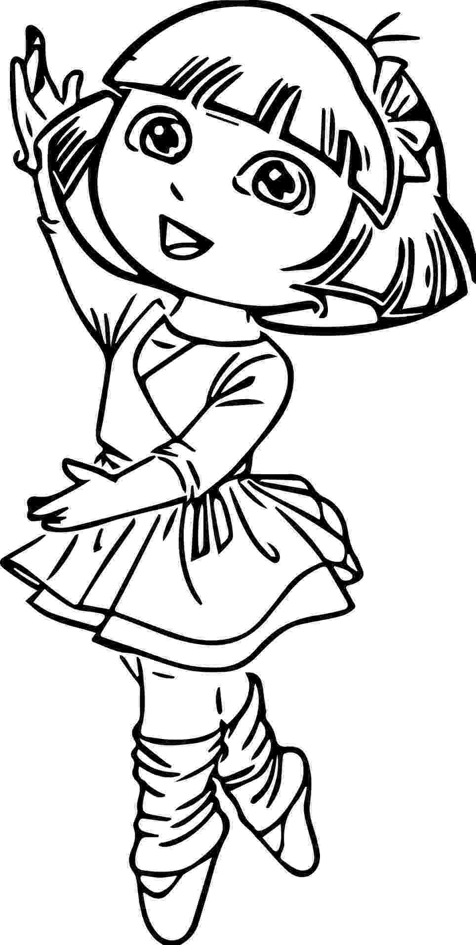 ballet coloring sheets ballet coloring pages at getdrawingscom free for ballet sheets coloring
