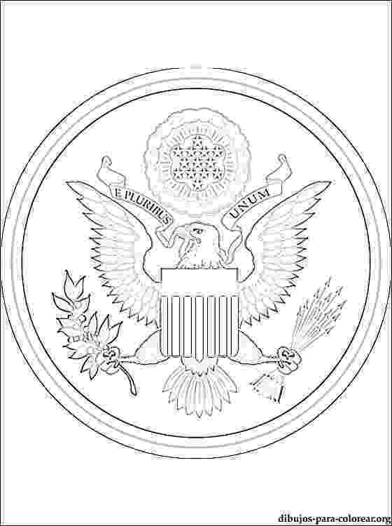 bandera de eeuu para pintar escudo de los estados unidos para imprimir y colorear para de bandera pintar eeuu