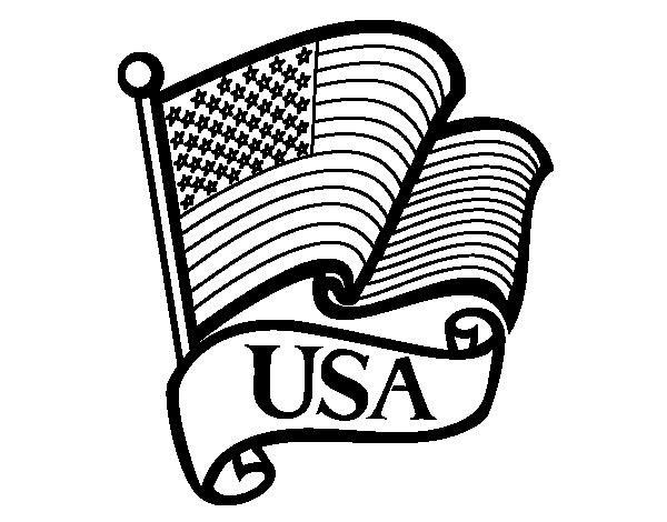 bandera de eeuu para pintar united states flag american flag template american flag bandera de pintar eeuu para