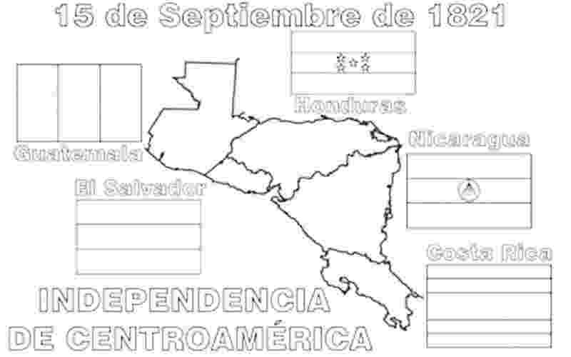 banderas de america central images of central america independence coloring pages de central america banderas