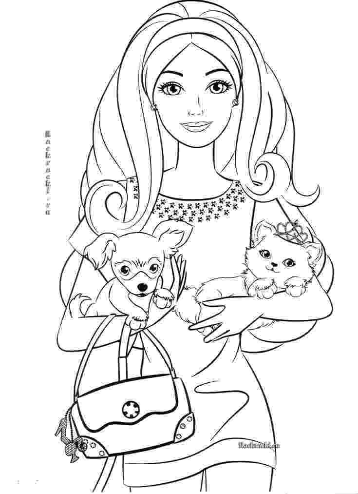 barbie color pages to print 17 best images about ausmalbilder barbie on pinterest to print pages color barbie
