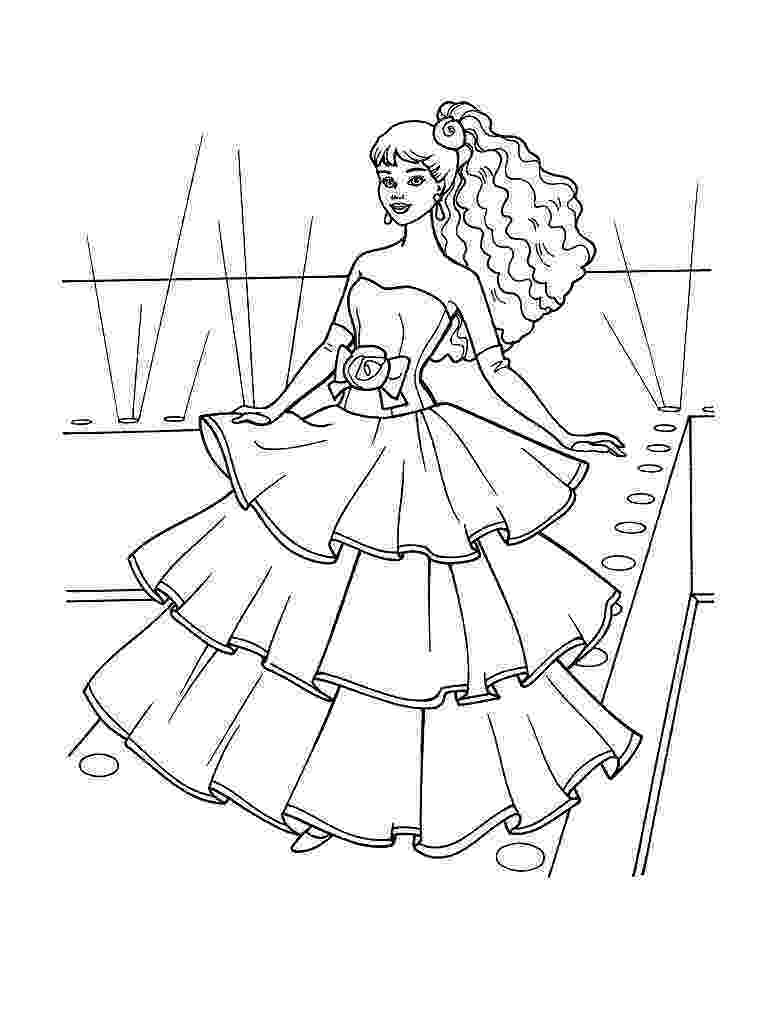 barbie color pages to print barbie coloring pages print to color barbie pages 1 1
