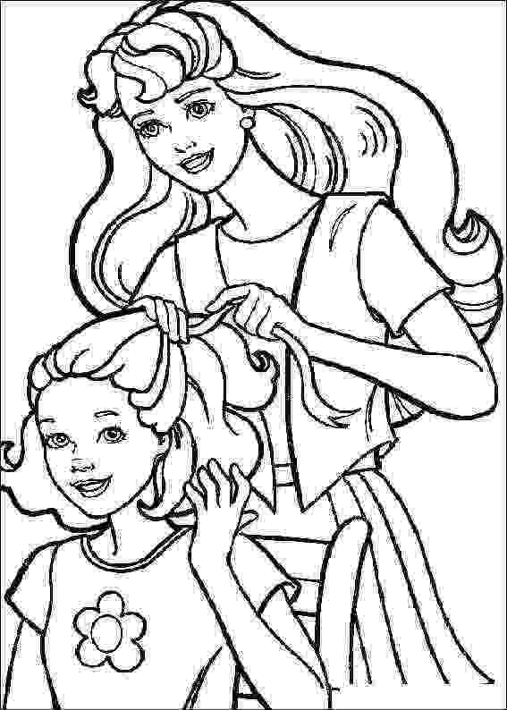 barbie colouring barbie and ken coloring pages getcoloringpagescom colouring barbie