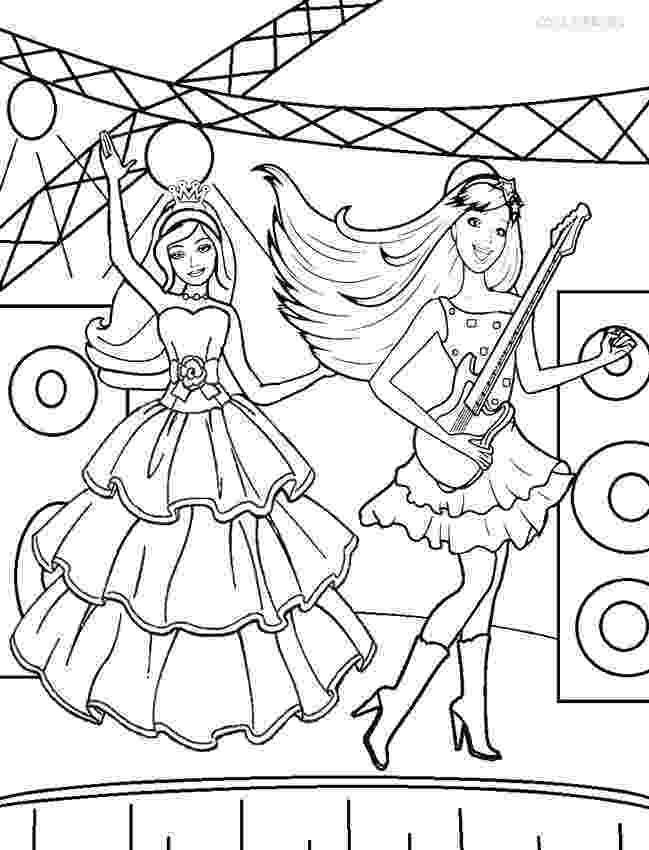 barbie colouring printable barbie princess coloring pages for kids cool2bkids barbie colouring