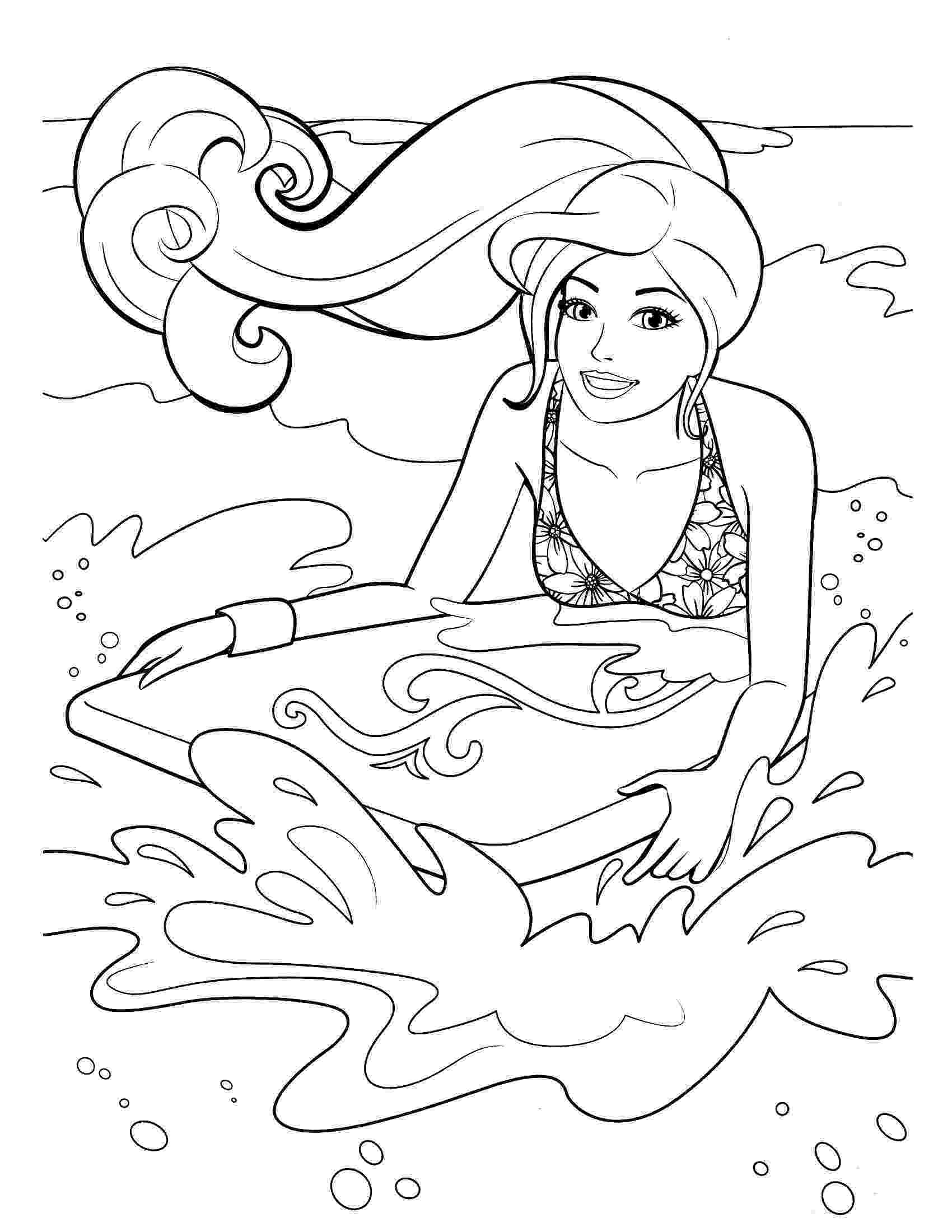 barbie free coloring pages barbie coloring pages pages barbie free coloring