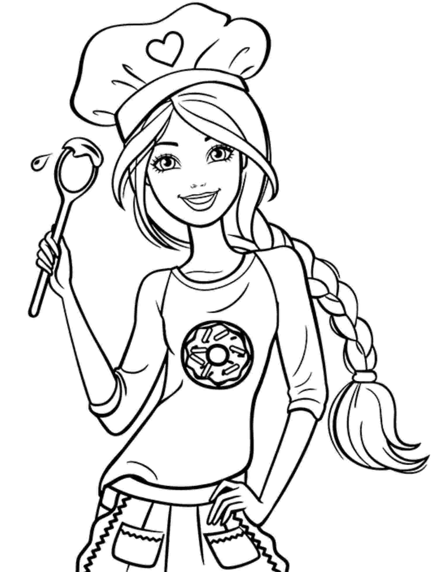 barbie free coloring pages barbie to print barbie kids coloring pages coloring free barbie pages
