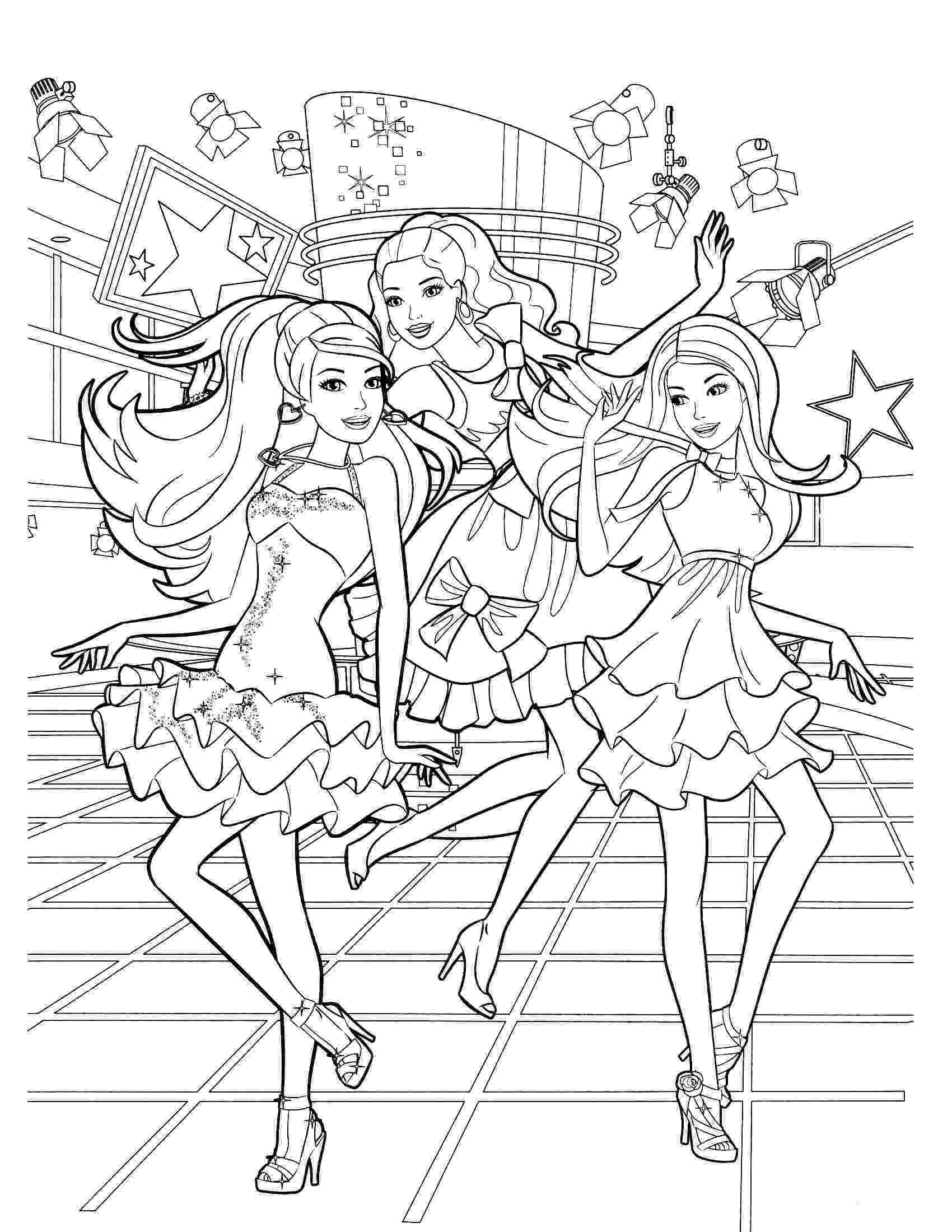 barbie free coloring pages chef barbie coloring page barbie coloring pages barbie barbie pages coloring free