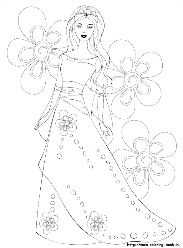 barbie girl colouring pictures barbie coloring pages 1jpg printables pinterest barbie colouring pictures girl