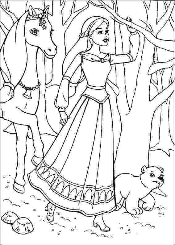 barbie girl colouring pictures barbie coloring pages learn to coloring barbie colouring girl pictures