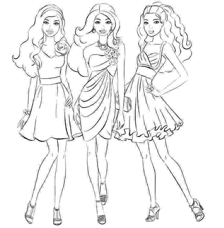 barbie girl colouring pictures barbie girl coloring pages nice coloring pages for kids girl pictures barbie colouring